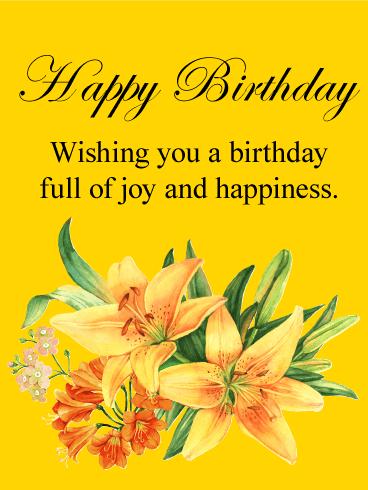 Birthday Card Yellow Business And Birthday Card Inspiration