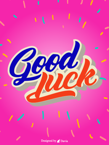 Pinky Wish  – Good Luck Cards