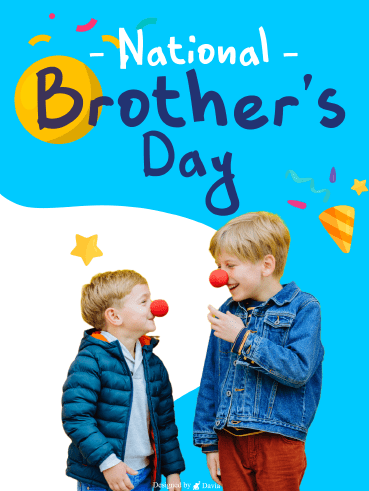 Squeaky Red Nose - National Brother's Day