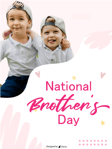 Cute in Caps - National Brother's Day
