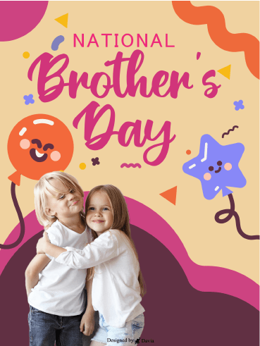 Balloons & Stars - National Brother's Day