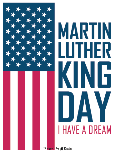 Freedom – Martin Luther King Jr. Day Cards