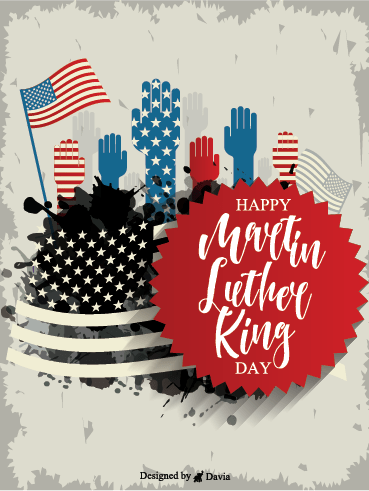 MLK Day – Martin Luther King Jr. Day Cards