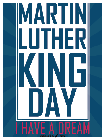 Hope – Martin Luther King Jr. Day Cards