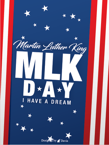 A Difference – Martin Luther King Jr. Day Cards