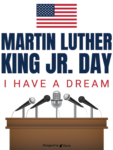 Never Gave Up – Martin Luther King Jr. Day Cards