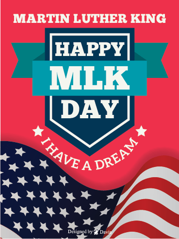 I Have A Dream – Martin Luther King Jr. Day Cards