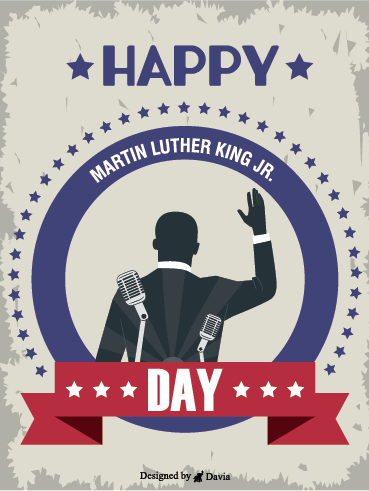 Honor – Martin Luther King Jr. Day Cards