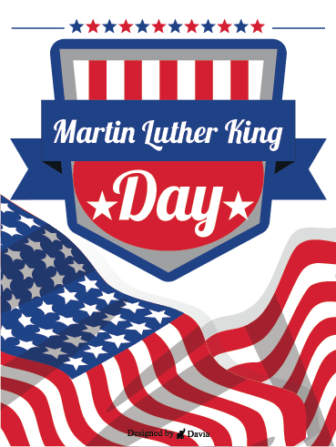 Fight For Justice! – Martin Luther King Jr. Day Cards