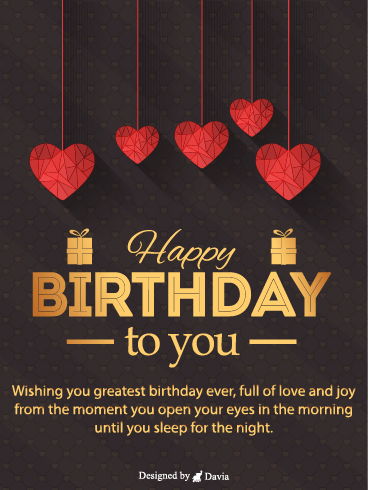 Birthday Love  – HB Newly Added Cards