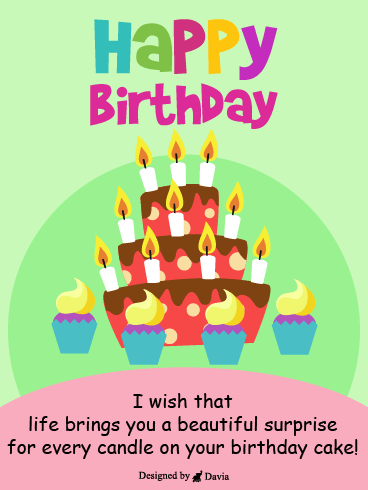 Surprise & Candles  – HB Newly Added Cards