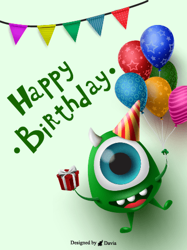 Monster Birthday  – HB Newly Added Cards