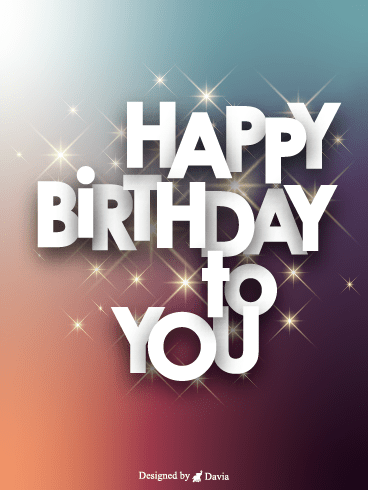 Glittering Birthday  – HB Newly Added Cards