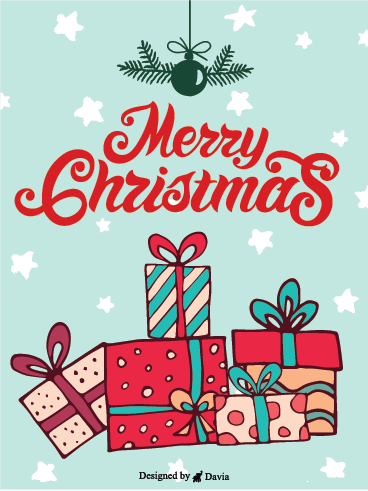 Gifts Only For You – Christmas Cards