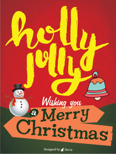 Holly Jolly Christmas – Christmas Cards
