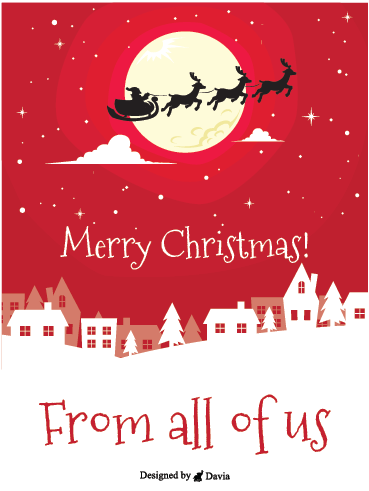 Santa Is Coming! – Christmas Cards