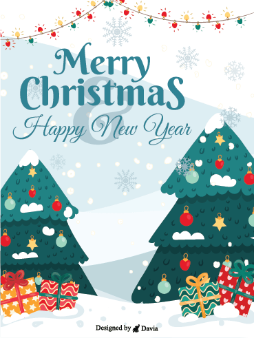 A Merry Wonderful Christmas – Christmas Cards