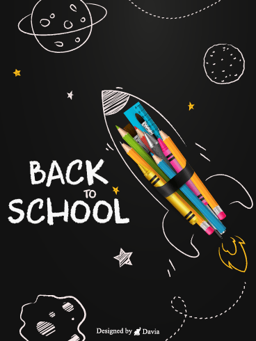 Rocket to Succeed – Back to School Cards