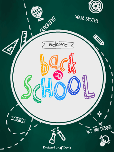 Blackbord – Back to School Cards