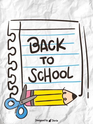 Aim high and have fun – Back to School Cards