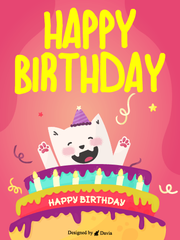 Funny Cats and Cake– HB Newly Added Cards