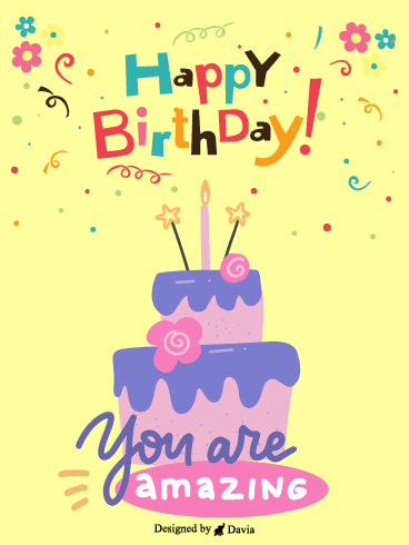 You are amazing  – HB Newly Added Cards