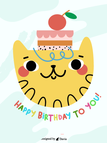 Cat cake birthday – HB Newly Added Cards