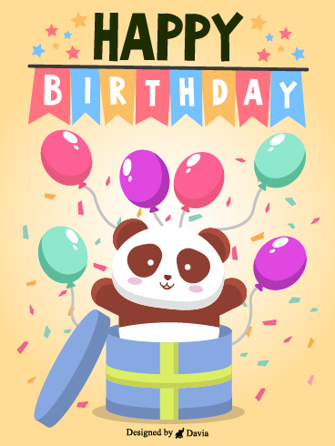 Balloons and Panda – HB Newly Added Cards