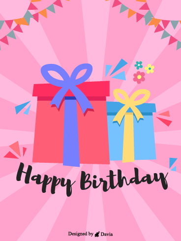 Gift for great birthday – HB Newly Added Cards