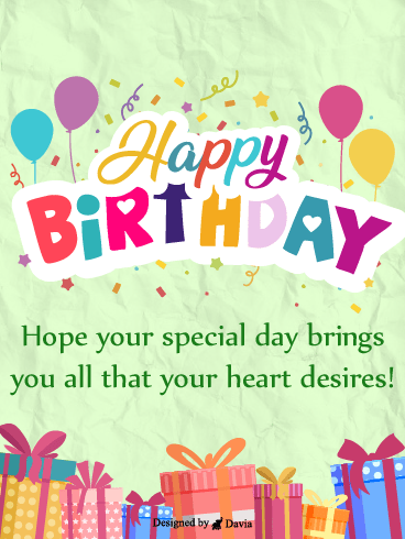 Special Day Special Heart– HB Newly Added Cards