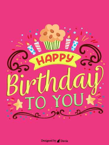 Cheerful Birthday – HB Newly Added Cards
