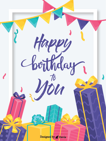 Birthday Care Package – Happy Birthday Newly Added Cards