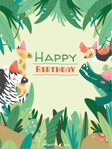 Birthday Forest – Happy Birthday Newly Added Cards