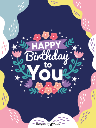 Count Your Blessings – Happy Birthday Newly Added Cards