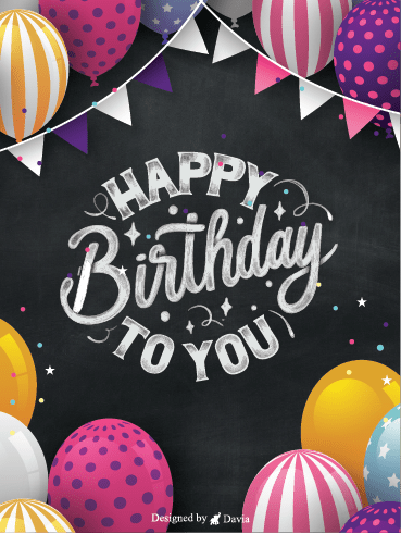 Pick Out A Card – Happy Birthday Newly Added Cards