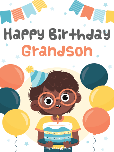 Nerdy - Happy Birthday Grandson