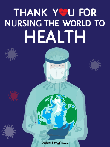 Nursing The World – Thank you Frontliners Cards