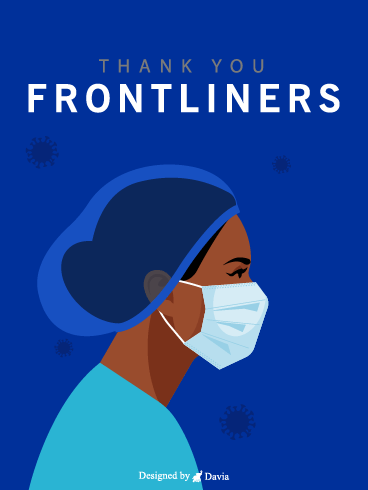 Thank You Nurse  – Thank you Frontliners Cards