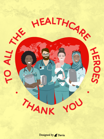 Healthcare Heroes  – Thank you Frontliners Cards