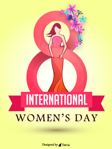 Beauty  – International Women's Day Cards