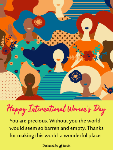 Mother, Sister, Daughter, Friend  – International Women's Day Cards