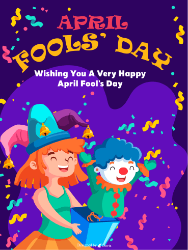 Happy Day  – April Fool's Day