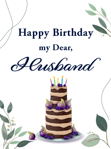 My Partner, My Love – HAPPY BIRTHDAY HUSBAND CARDS