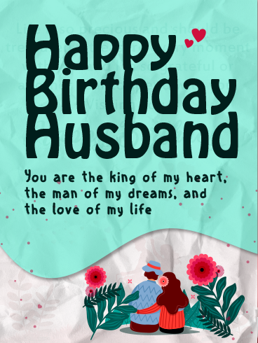 Sweet & Lovely Pair – HAPPY BIRTHDAY HUSBAND CARDS