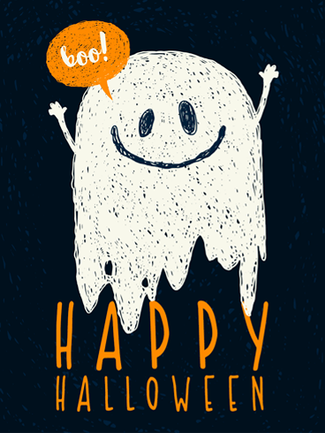 More Boos, Please. –  Halloween Cards