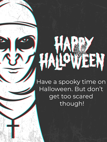 A Scare Is Born –  Halloween Cards
