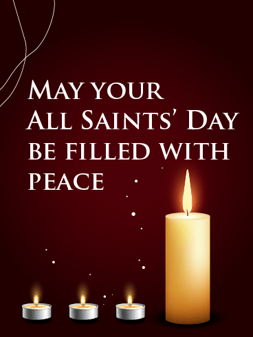 Holy Day – ALL SAINTS' DAY CARDS
