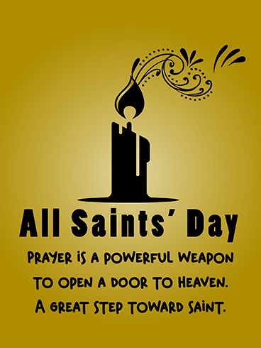 A Door To Heaven – ALL SAINTS' DAY CARDS