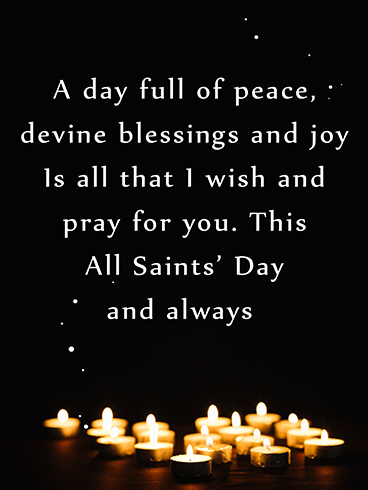 Divine Blessings – ALL SAINTS' DAY CARDS
