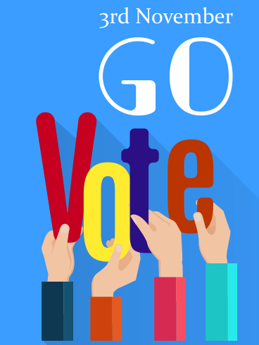 Go Vote! – ELECTION DAY CARDS